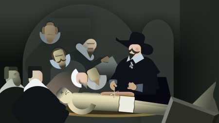 pptfy: The Anatomy Lesson of Dr. Nicolaes Tulp, by Ziv Mizrahi