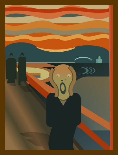 pptfy: The Scream, by Ziv Mizrahi