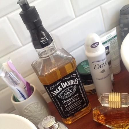 Jack Daniel's soap dispenser by Alon Carmel