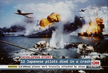 CNN Victim Blaming meme - Pearl Harbor, by Amir Schiby