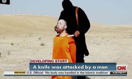 CNN Victim Blaming meme -  ISIS Sotloff murder, by Yehuda Elmaliach