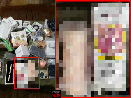 Alleged stolen silicon vagina. Photo: Israel Police Spokesperson; Editing and blurring: Room 404