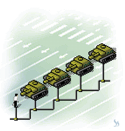 Contemporary Tiananmen sponsored by Google. איור: מושון זר-אביב ©