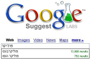גוגל מציע: פוליקר הומו