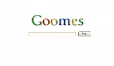 Goomes, מתוך אתר הבחירות של ג'ומס