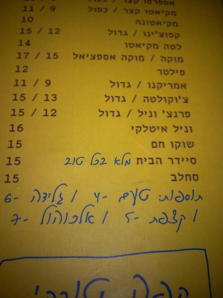 4 shekel flavor, photo dubi zulti