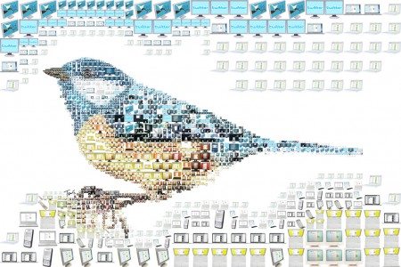 Twit... Twit... Twitter (Illustration for RAM magazine). איור: tsevis (cc-by-nc-nd)