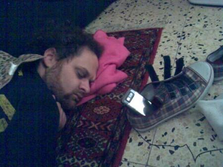 idok asleep, photo by thamar eilam gindin