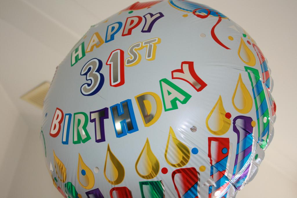 Поздравление с 31 днём рождения 93