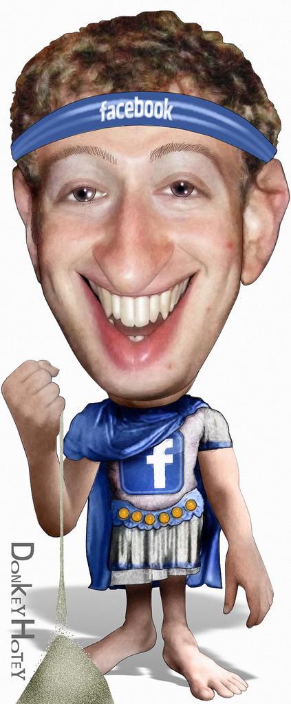"""מייסד ומנכ""""ל פייסבוק מארק זאקרברג 📸 DonkeyHotey (cc-by-sa)"""