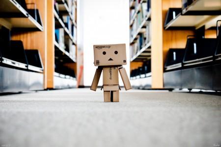 ארגז אמזון עצוב. צילום: Noelas@flickr - Bj. H, cc-by-nc-nd