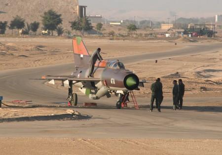 מטוס חיל האוויר המצרי במצרים. צילום: ראלף לאנט