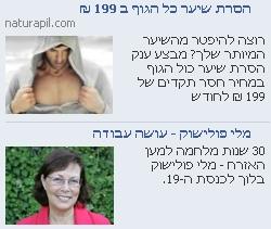 פייסבוק פרסומת פוטוסינתזה - מלי פולישוק
