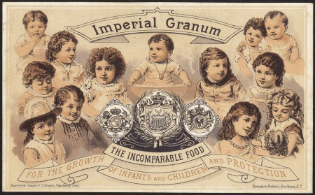Imperial Granum, the incomparable food for the growth and protection of infants and children [front], By Boston Public Library (pd)