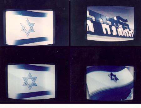דגל ישראל-2 קמפיין הליכוד 1988, צילום: זאב ברקן (cc-by)