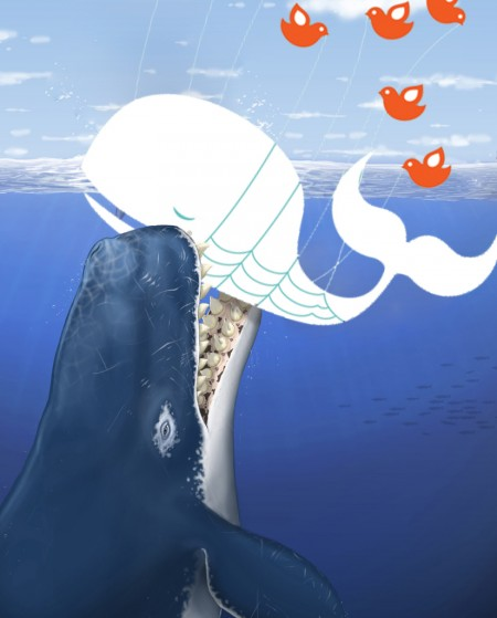 Fail Whale Eaten by Giant Whale, By aaronparecki - Aaron Parecki (cc-by)