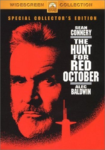 """שון קונרי בסרט """"המרדף אחרי אוקטובר האדום"""""""