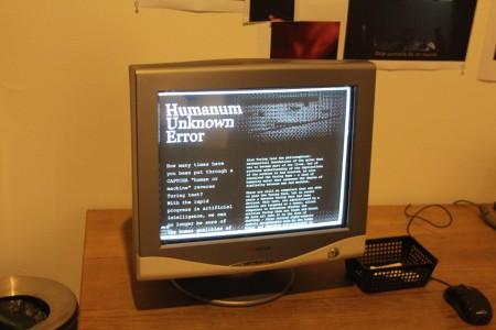 Humanum Unknown Error, עבודה של צילה חסין