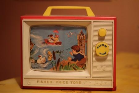 טלוויזית צעצוע. צילום: Joybot - Sarah Joy (cc-by-sa)