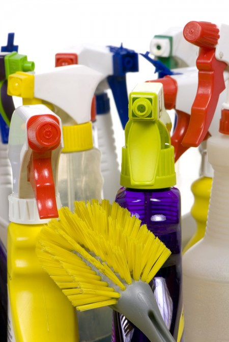 Cleaning Supplies, By The Survival Woman (cc-by-nc)