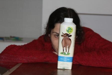 """ענבל יומטוביאן, כותבת ומבצעת ההצגה """"היידי"""". צילום: עידו קינן"""
