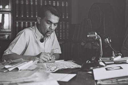 עזריאל קרליבך, 01/05/1942. צילום: זולטן קלוגר, לשכת עיתונות ממשלתית (נחלת הכלל)