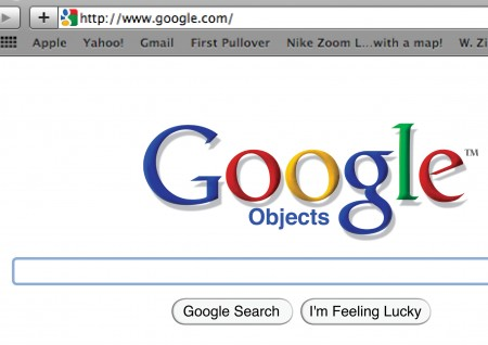 Google Objects, קונספט של טל ארז