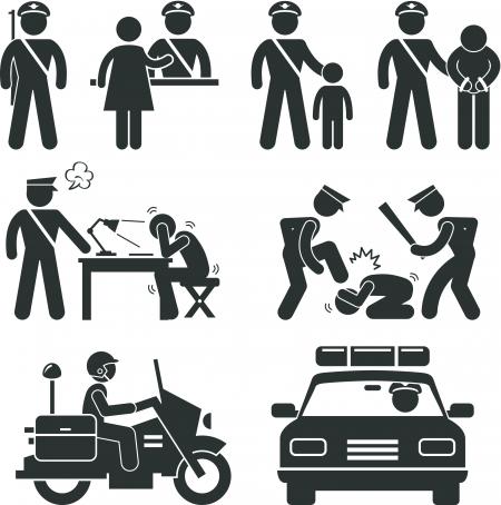 שוטרים בפעולה. איור:  Leremy/Shutterstock