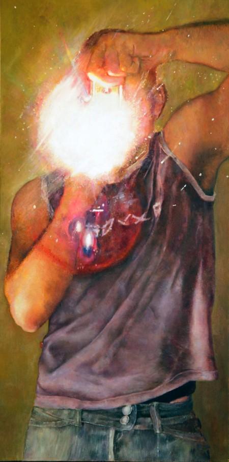 Flash Beck, ציור של דורון וולף