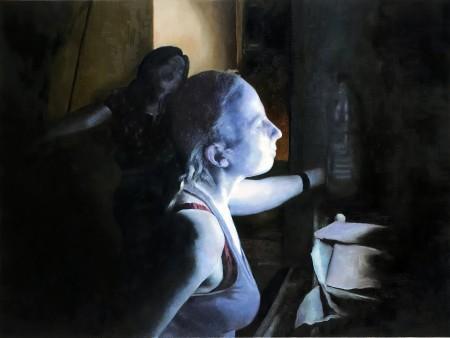 """""""המכתב"""", ציור של דורון וולף"""