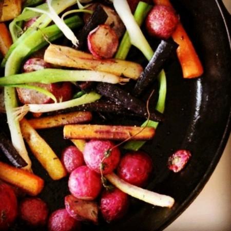 ירקות כפר צלויים. צילום: אדר קפלן-מור