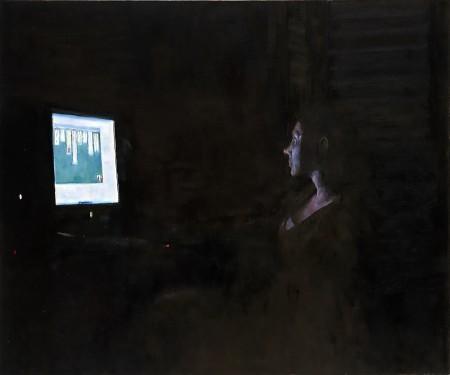 """""""סוליטר"""", ציור של דורון וולף"""