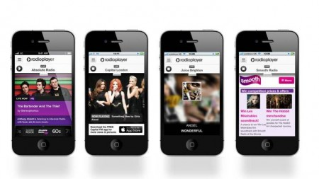UK Radioplayer. צילום מהאתר הרשמי