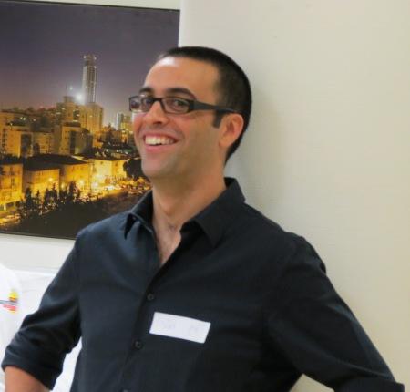 """ירון לוטן, דובר אמב""""י, ארגון המגמגמים בישראל. צילום: אלי דז'ורייב.JPG"""