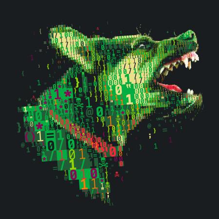 כלבי הסייברמלחמה. איור: חאריס טסוויס (cc-by-nc-nd)