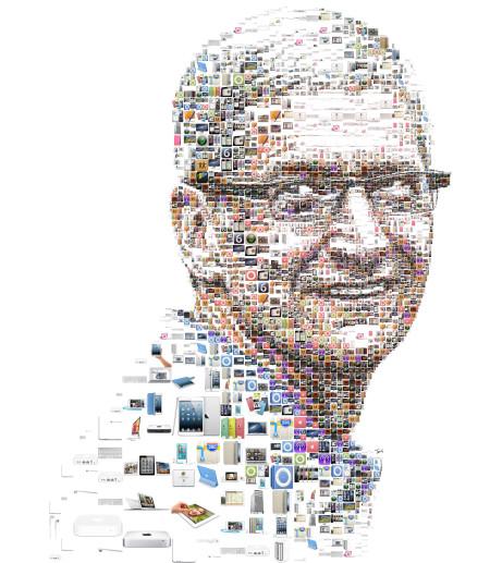 """מנכ""""ל אפל, טים קוק. איור: חאריס טסוויס (cc-by-nc-nd)"""