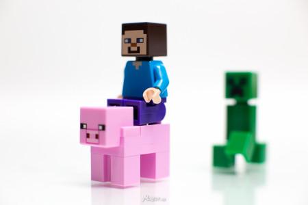 לגו מיינקראפט. צילום: Lego Photo mureut (cc-by-nd)