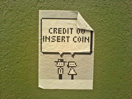 Insert Coin. תמונה: Lars Kristian Flem (cc-by-nc)