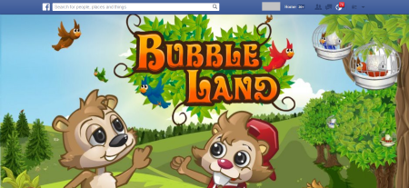משחק הפייסבוק באבל לנד