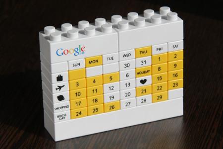 לוח שנה גוגל מלגו. צילום: keso s (cc-by-nc-nd)