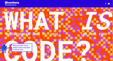 הכתבה What is Code? של פול פורד באתר ביזנסוויק