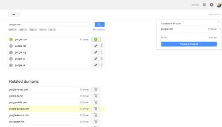 רכישת הדומיין google.com על ידי סמניי וד