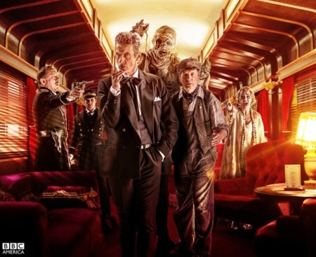 """ד""""ר הו ברכבת. תמונה: יחצנות BBC"""