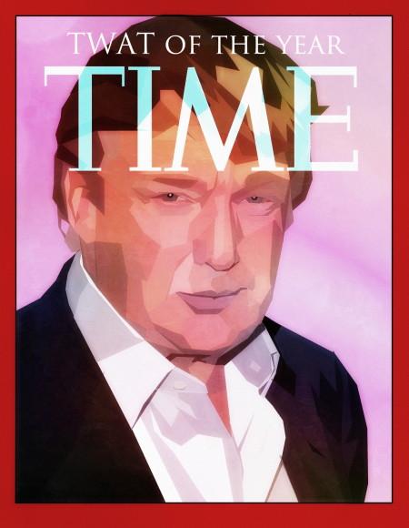 דונלד טראמפ על שער טיים מגזין. תמונה: Surian Soosay (cc-by)