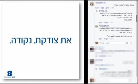 ירוס אפרים מתווכחת עם בזק בפייסבוק ביום האישה, 3.2016