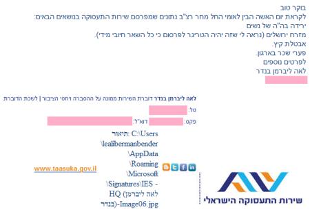 """""""מזרח ירושלים (נראה לי שזה יהיה הטריגר לפרסום כי כל השאר חיובי מידי)"""". מתוך הודעה לעיתונות של לשכת התעסוקה, 7.3.2016"""