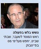 """הפניה לכתבה בכלכליסט: ראש המוסד לשעבר, שבתי שביט, יחפש מעלימי מס בפייסבוק"""""""