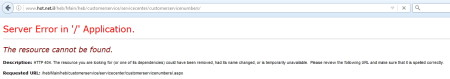 """תקלה בעמוד """"מוקדי שירות לקוחות"""" באתר הוט"""