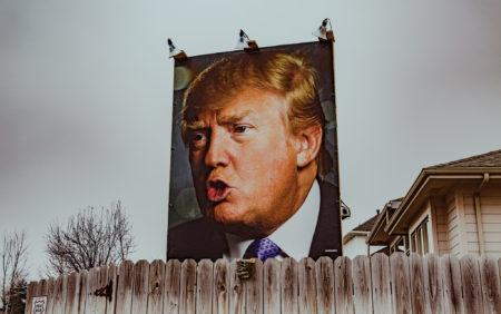 שלט בחירות של דונלד טראמפ. תמונה: Tony Webster (cc-by-nc-nd)
