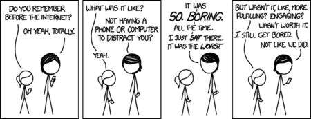 xkcd, Before the Internet